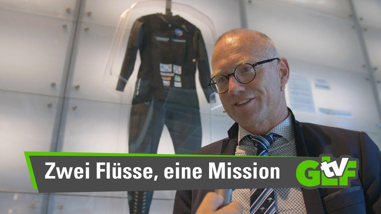 Zwei Flüsse - eine Mission: Filmpremiere Rheines Wasser und TenneSwim mit Prof. Andreas Fath